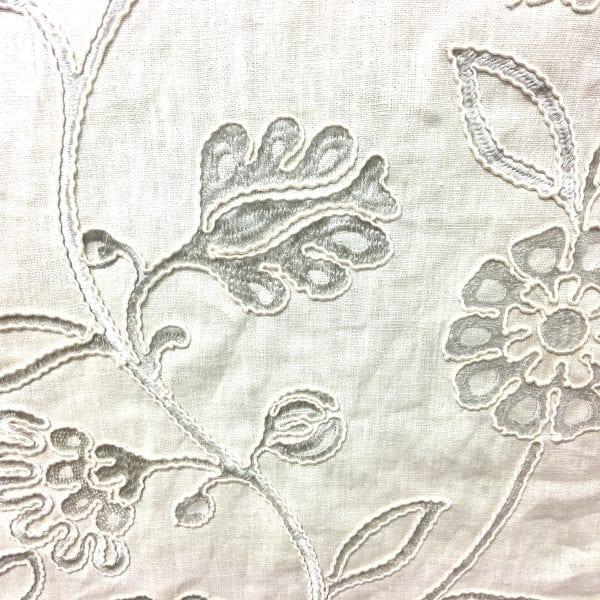 Fabric store Luigi - Pale Grey fabric, designer fabrics, decorator trims, cheap fabric, drapery, The Fabric House