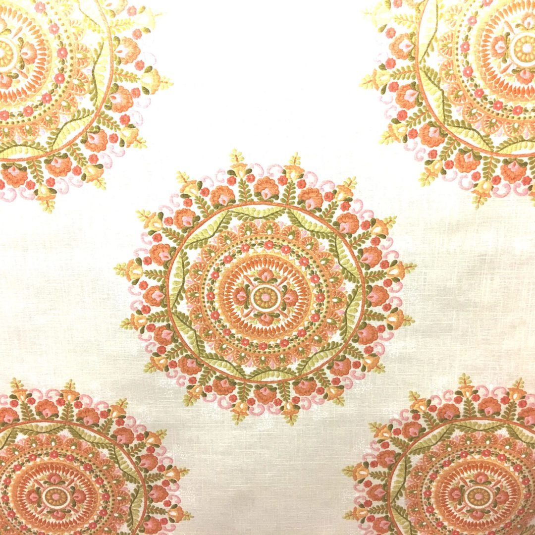 Margarita Orange, discount designer fabric, trim Nashville, TN, Louisville, KY, Sunbrella outdoor fabric, drapery hardware and fabric, decorator fabric and trim.