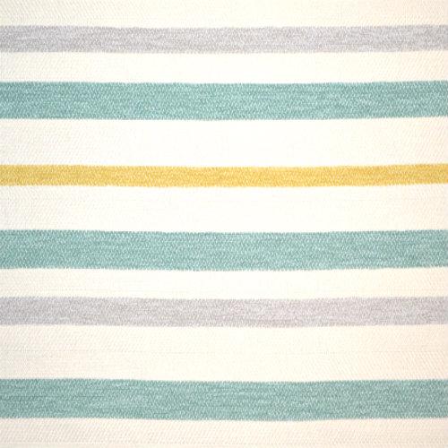 Obrien - Aquamarine (Railroaded) - Discount Designer Fabric - fabrichousenashville.com