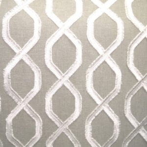 Carrington (Sheer) - Stone - Discount Designer Fabric - fabrichousenashville.com