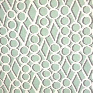 Circle Shadows - Pistachio - Discount Designer Fabric - fabrichousenashville.com