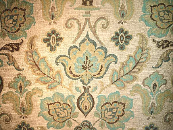 Fruition - Turquoise - Discount Designer Fabric - fabrichousenashville.com