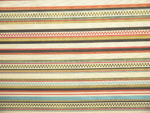 Grand Stripe - Jewel (Railroaded) - Discount Designer Fabric - fabrichousenashville.com
