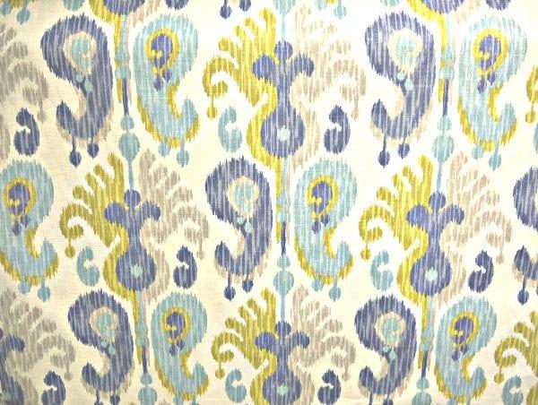 Journey - Aquamarine - Discount Designer Fabric - fabrichousenashville.com