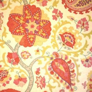 Ladbroke - Punch - Discount Designer Fabric - fabrichousenashville.com