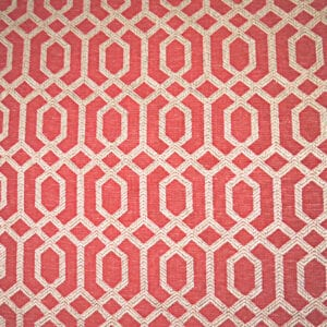 Parquet - Scarlet - Discount Designer Fabric - fabrichousenashville.com