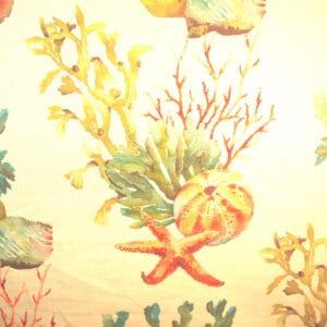 Sea Life - Multi - Discount Designer Fabric - fabrichousenashville.com