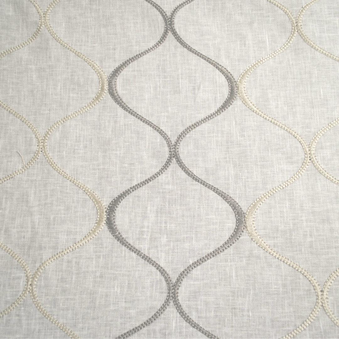 Alden - Grey (Sheer) - Designer Fabric from the Best Online Fabric Store