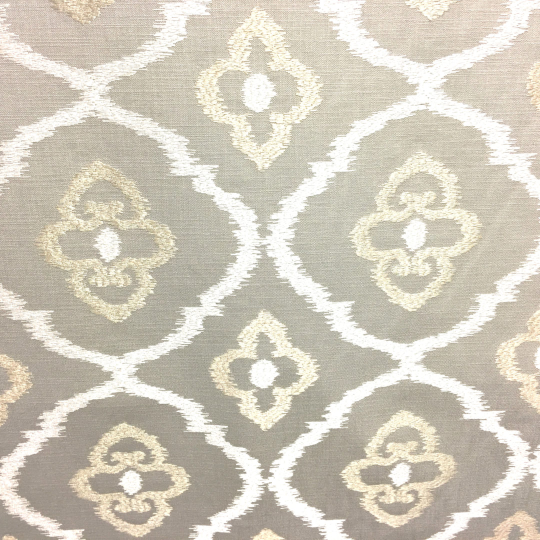 Sumatra Platinum, discount designer fabric, trim Nashville, TN, Louisville, KY, Sunbrella outdoor fabric, drapery hardware and fabric.