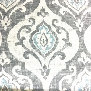 Suri Slate, discount designer fabric, trim Nashville, TN, Louisville, KY, Sunbrella outdoor fabric, drapery hardware and fabric.