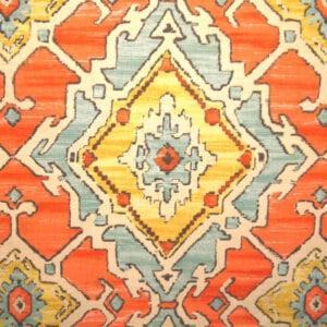 Sundance - Tangerine - Discount Designer Fabric - fabrichousenashville.com