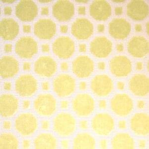 Velvet Geo - Citrine - Discount Designer Fabric - fabrichousenashville.com