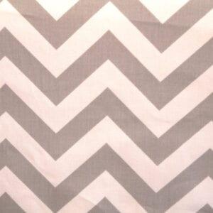 Zig Zag - Storm / Twill - Discount Designer Fabric - fabrichousenashville.com