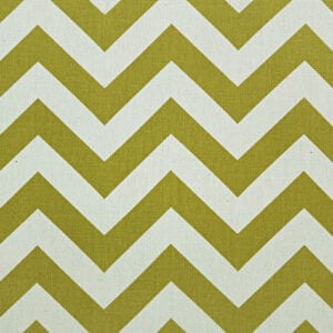 Zig Zag - Village Green / Natural - Discount Designer Fabric - fabrichousenashville.com