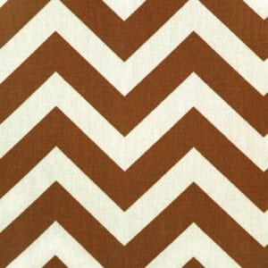 Zig Zag - Village Rust / Natural - Discount Designer Fabric - fabrichousenashville.com