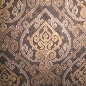 Zaya - Charcoal - Discount Designer Fabric - fabrichousenashville.com