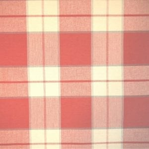 Kingston Plaid - Venetian Red - Discount Designer Fabric - fabrichousenashville.com