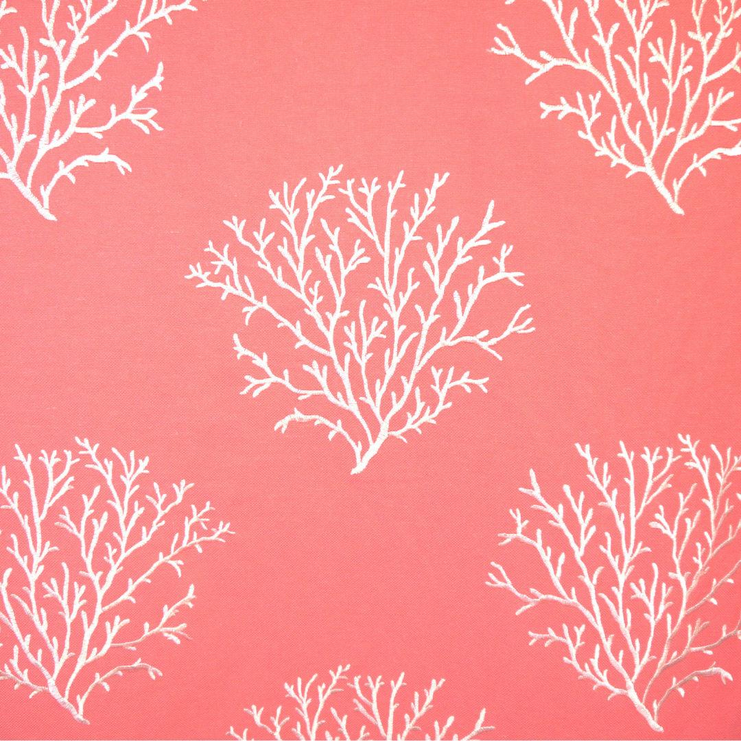 Queensland - Coral - Discount Designer Fabric - fabrichousenashville.com