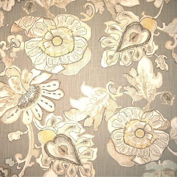 Fabric store fabric Almada Granite, designer fabrics, trims, drapery fabric and drapery hardware - The Fabric House.