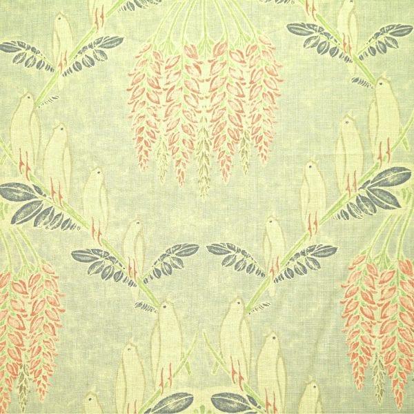 Bluebird - Mist - Discount Designer Fabric - fabrichousenashville.com