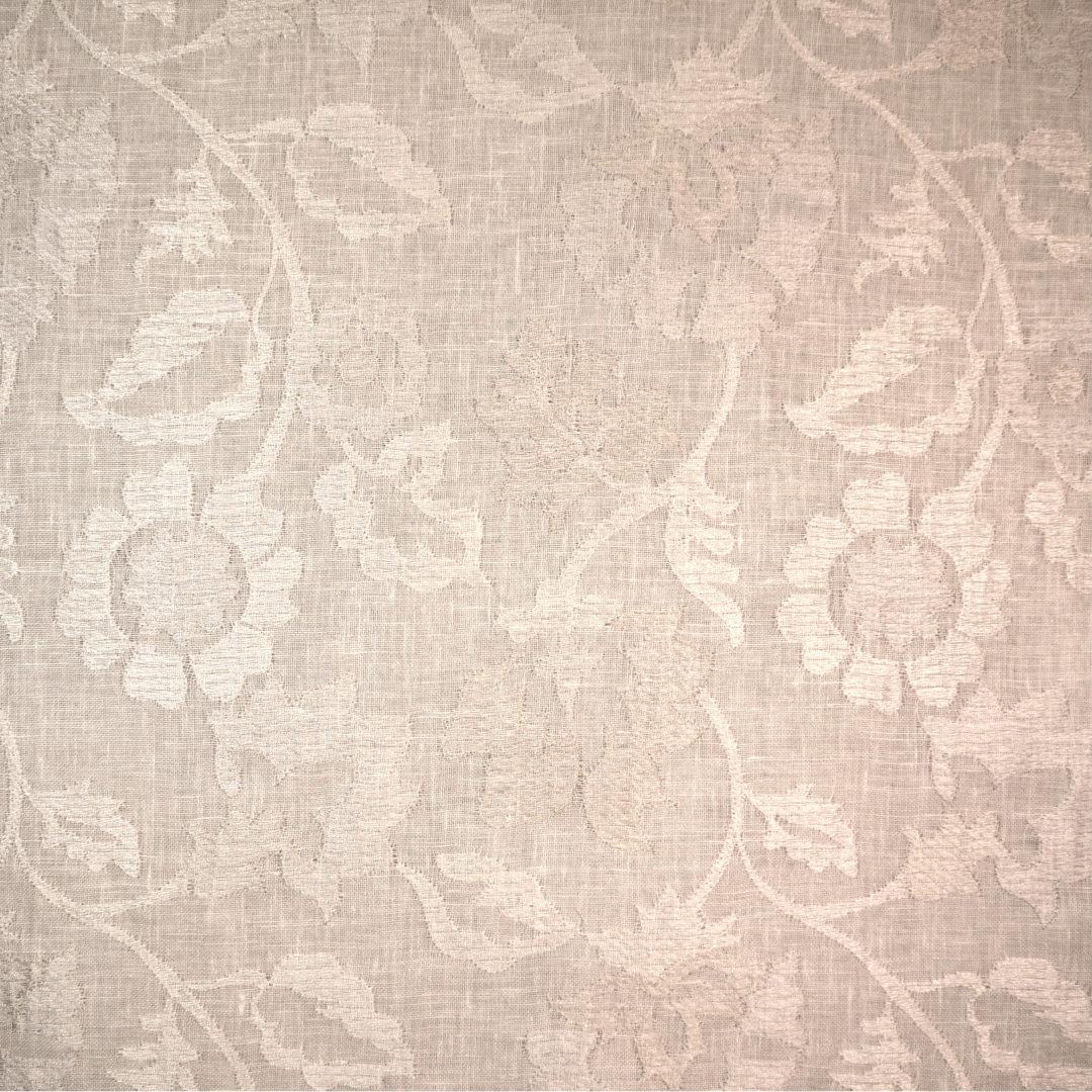 Flora - Cloud (Sheer) - Discount Designer Fabric - fabrichousenashville.com