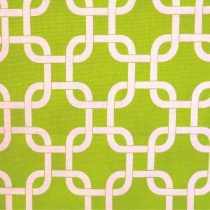 Gotcha - Chartreuse / White - Discount Designer Fabric - fabrichousenashville.com