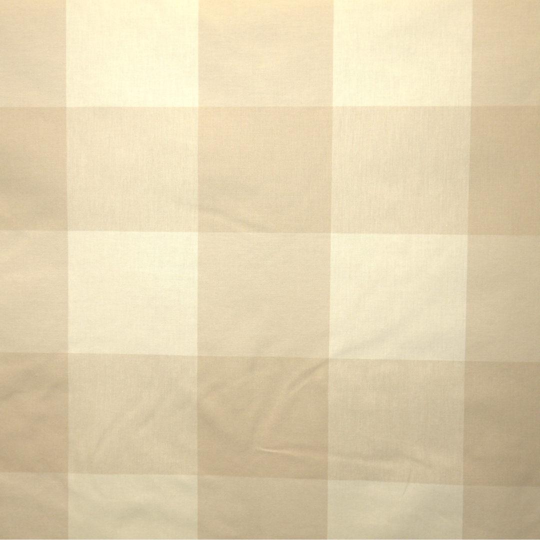 Buffalo Check - Linen - Discount Designer Fabric - fabrichousenashville.com