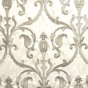 Empire - Ivory Grey - Discount Designer Fabric - fabrichousenashville.com