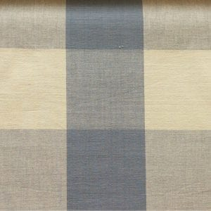 Four Inch Check - Soft Blue - Discount Designer Fabric - fabrichousenashville.com