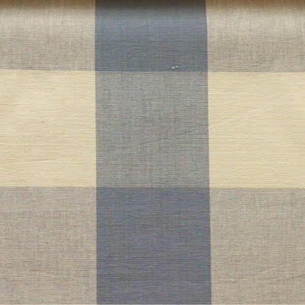 Four Inch Check - Soft Blue - Discount Designer Fabric - fabrichousenashville.com