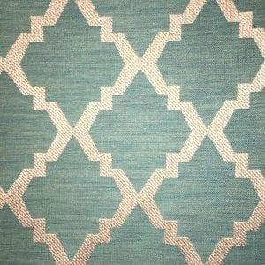Bartin - Teal - Discount Designer Fabric - fabrichousenashville.com