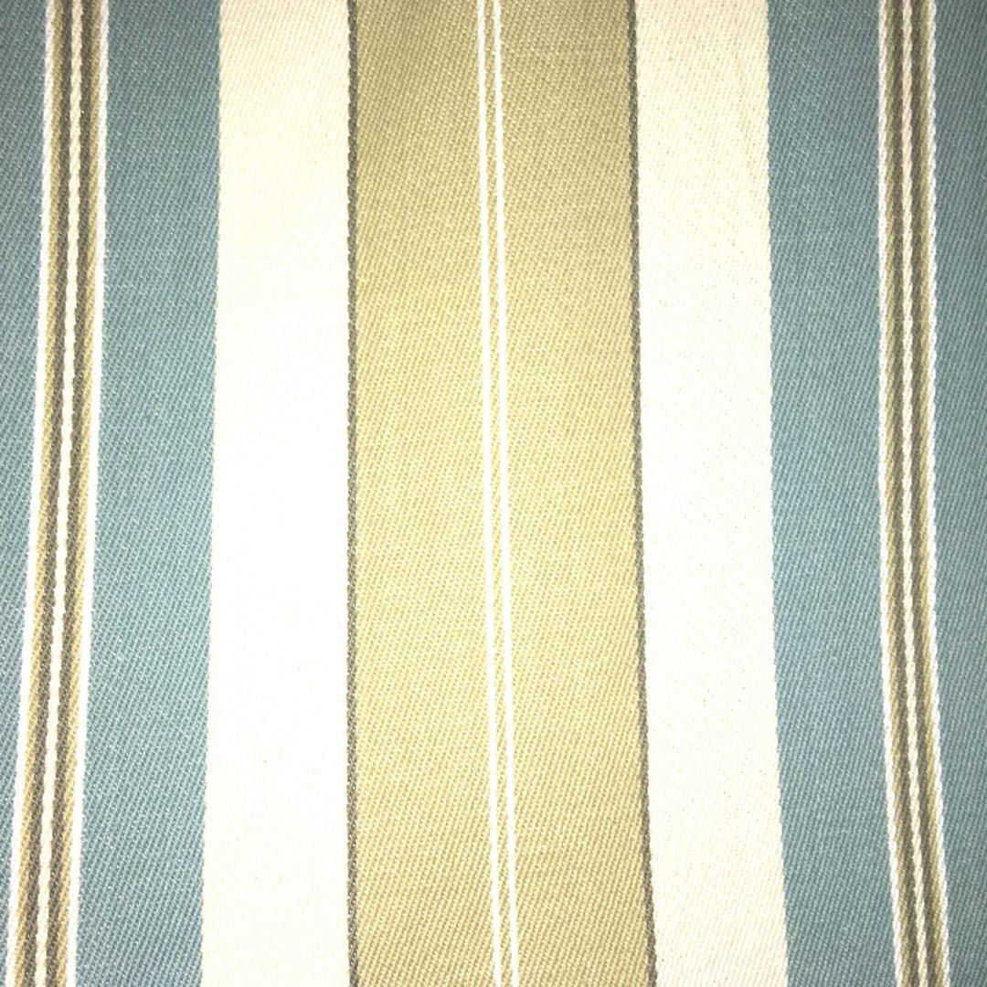 Bahama Stripe - Green Blue - Discount Designer Fabric - fabrichousenashville.com