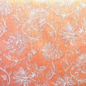Benson - Coral - Discount Designer Fabric - fabrichousenashville.com