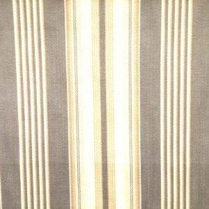 Bordeaux Stripe - Pewter - Discount Designer Fabric - fabrichousenashville.com