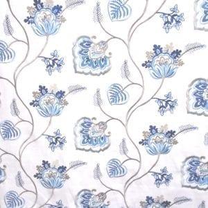 Phyllis - Marine - Discount Designer Fabric - fabrichousenashville.com