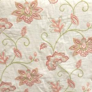 Ripoli - Coral - Discount Designer Fabric - fabrichousenashville.com