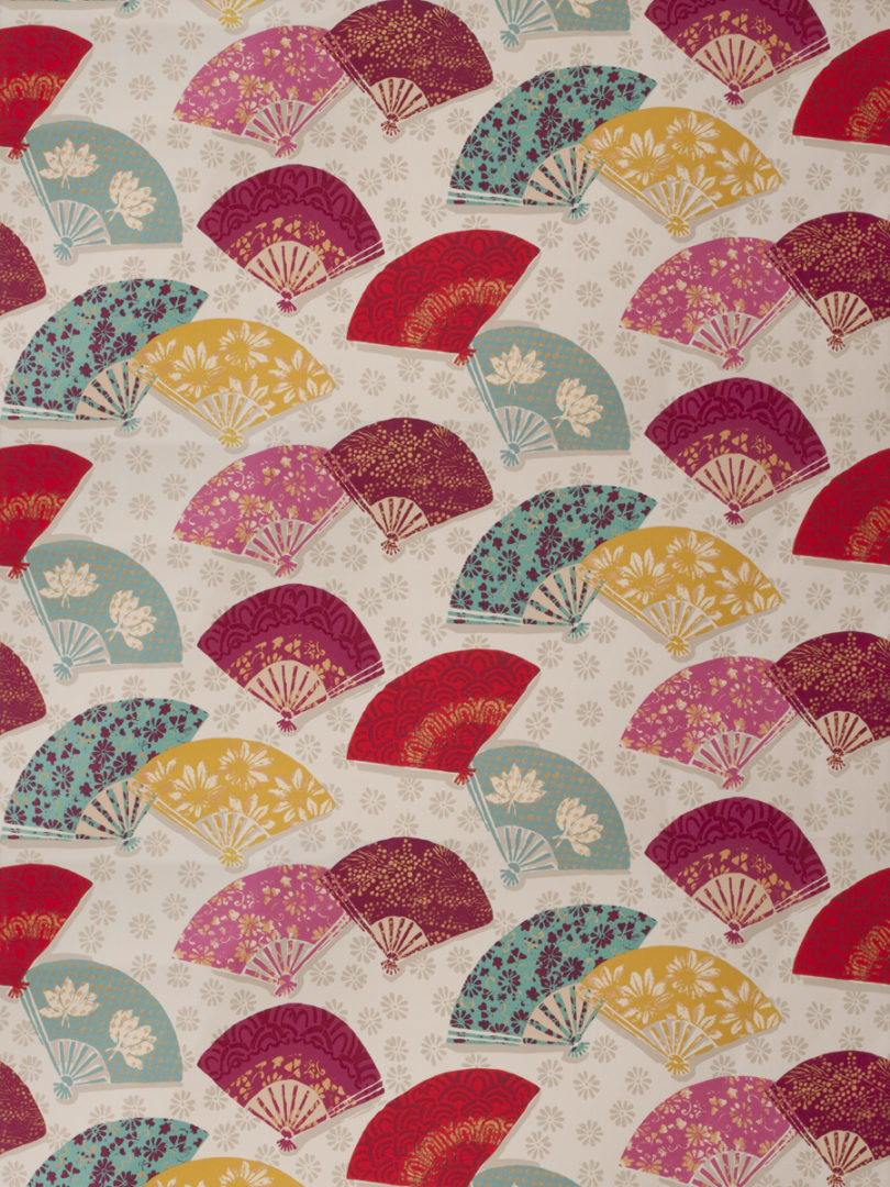 Exotic Fans Mulberry Fabric Store With Designer And Decorator