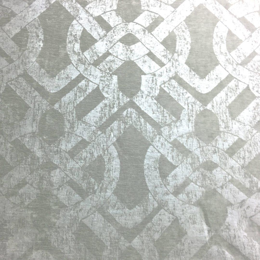 Curve Appeal - Silver - Discount Designer Fabric - fabrichousenashville.com