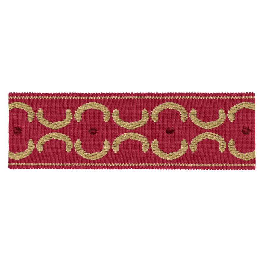 1872-T - Red - Discount Designer Fabric - fabrichousenashville.com
