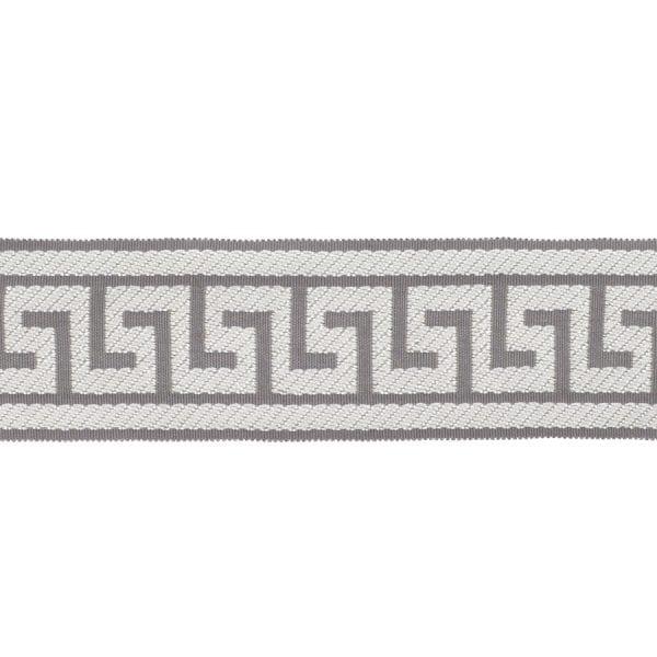 Athens Key - Grey - Discount Designer Fabric - fabrichousenashville.com