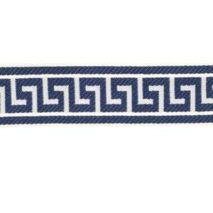 Athens Key - Sapphire - Discount Designer Fabric - fabrichousenashville.com