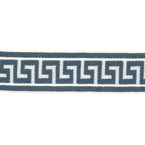 Athens Key - Teal - Discount Designer Fabric - fabrichousenashville.com