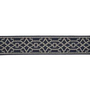 Berlin - Navy - Discount Designer Fabric - fabrichousenashville.com