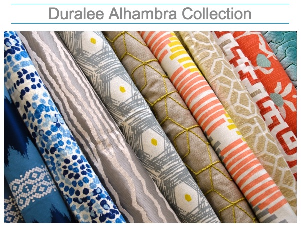 Fabric store Nashville, TN Duralee Alhambra Collection, drapery fabric and hardware, Louisville, KY, designer trim, decorator fabric and designer fabric.