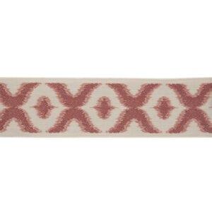 Kantou - Deep Coral - Discount Designer Fabric - fabrichousenashville.com