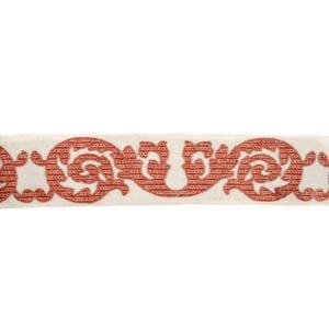 Maderia - Coral - Discount Designer Fabric - fabrichousenashville.com