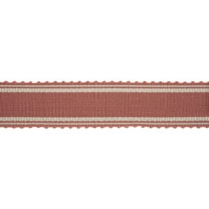 Munich - Deep Coral - Discount Designer Fabric - fabrichousenashville.com