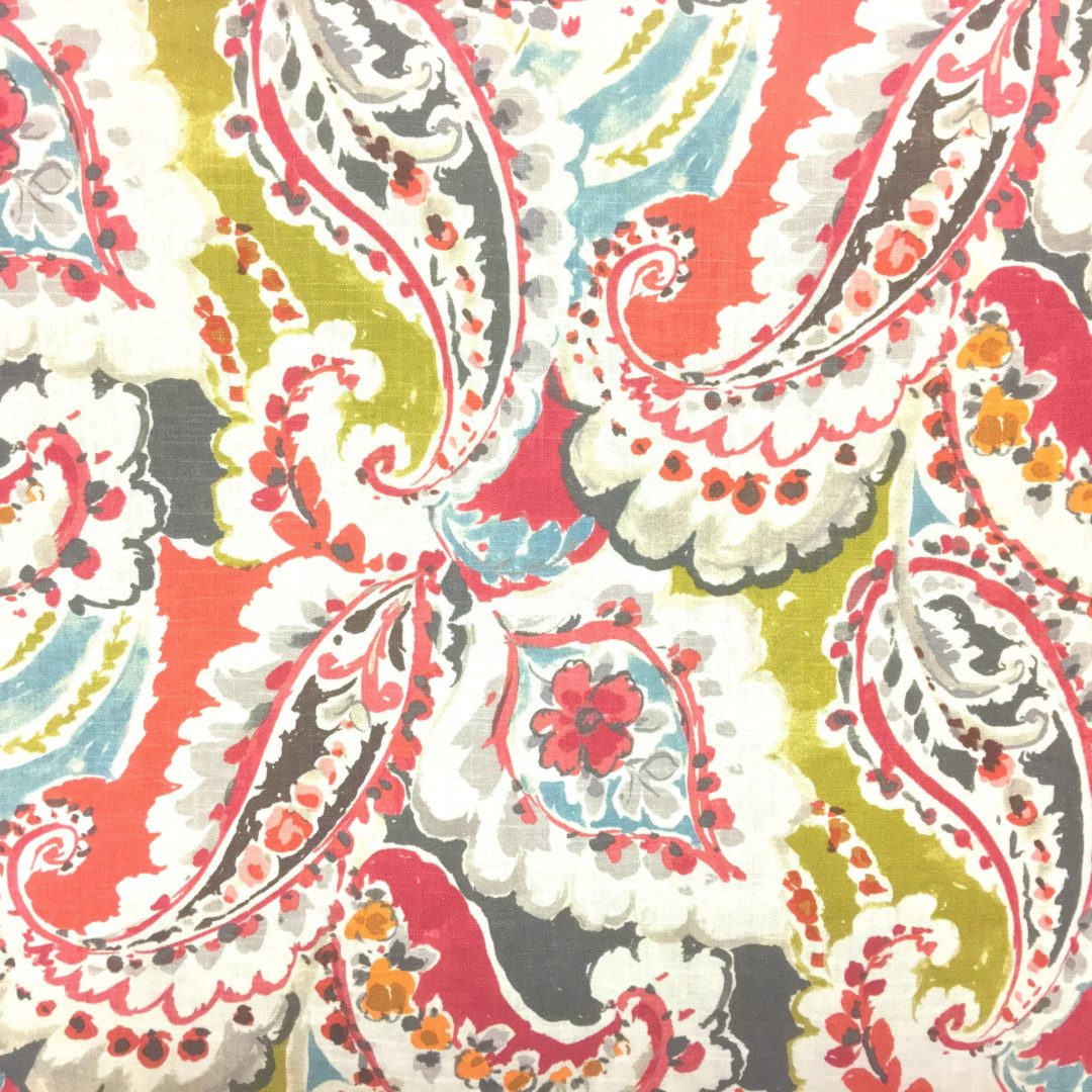 Aretha red nashville tn fabric store designer fabric for Designer fabric store