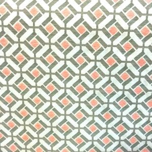 Bennett - Coral - Discount Designer Fabric - fabrichousenashville.com