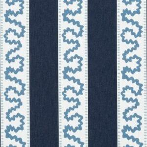 Brook Street - Indigo - Discount Designer Fabric - fabrichousenashville.com
